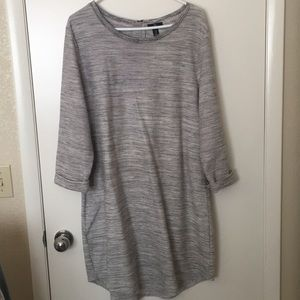 Gap grey sweater dress. Size xl.